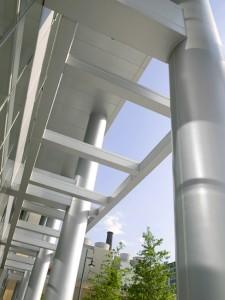Metalwerks Column and Beam Cladding