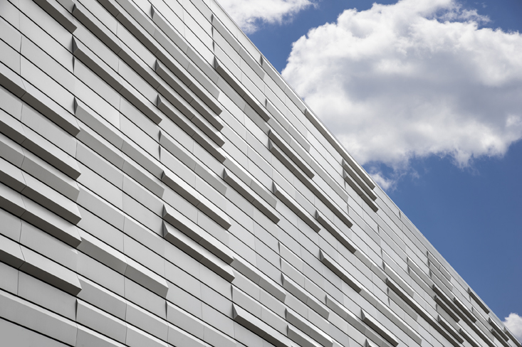 Sculpted 3D rainscreen metal panel systems - NCLR - Rutgers