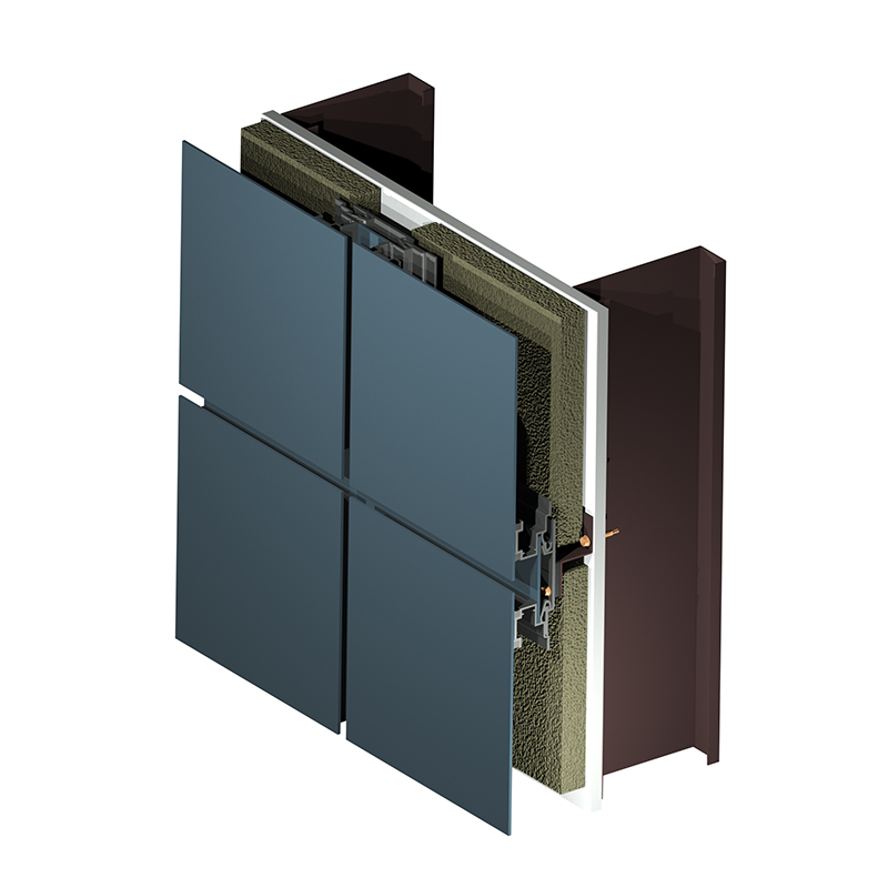 Arcwall floating metal panel product image