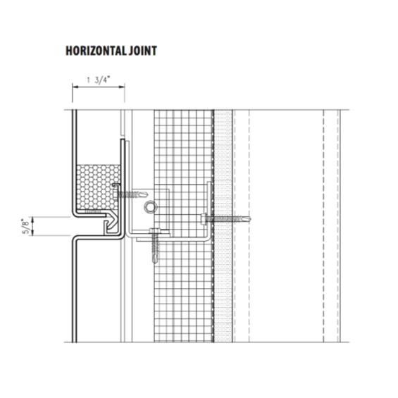 Horizontal Joint of Arcwall Advanced Technology