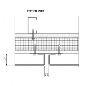 arcwall rainscreen system vertical-joints