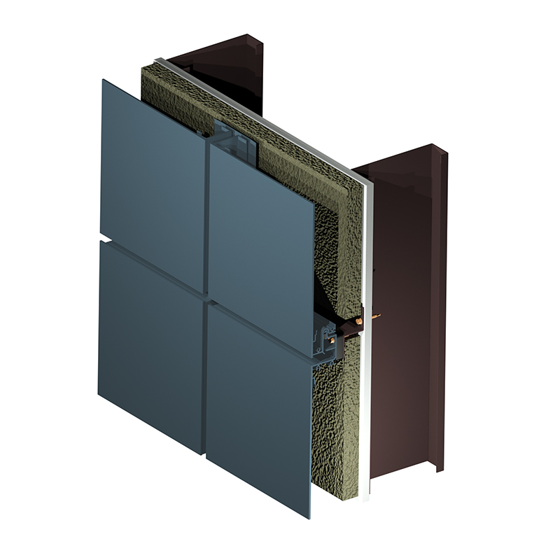 Omniplate 2510 economical barrier wall system product image